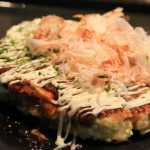 Marc BIBEAU Okonomiyaki heaven clothing in new food crunchiness! During the sting moist spring cabbage sweet!