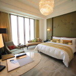 A comfortable Club Deluxe room boasts the largest Mandarin Oriental Taipei Taiwan