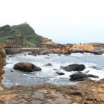 "Experience the weave ""Yehliu geopark' natural outcroppings typical existence at Queen's head at Panorama!"