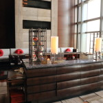 Mandarin Oriental Tokyo in a quiet, meeting a great sense tea corner