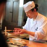 富山で進化し続ける注目の越中前鮨「鮨人」は赤酢を使った独特のシャリが特徴