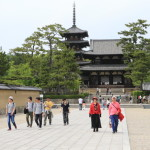 Japan boasts a history of more than 1,400 years, and built Horyu-ji Temple Prince shōtoku's first world cultural heritage