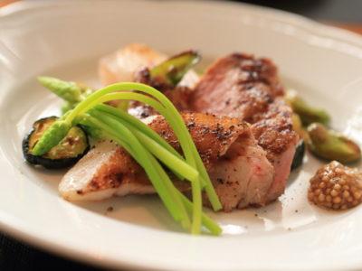 """Irgcciolo"" new menu great lunch of aged pork"