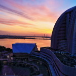 「横浜ベイホテル東急」みなとみらいの大観覧車と港ビューを楽しむホテル