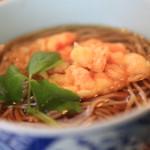 """""""蕎麥屋大森""""店三間新鮮現磨的出現煮的新鮮享受蕎麥"""