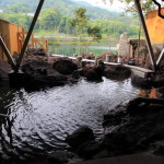 "Filled with smooth hot springs are Springs ""garaku"" Kasuga and relaxing spa facilities"