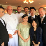 "Paris Michelin two-star 'Michelle Rostan""gastronomic society @ hamanako Royal Hotel"