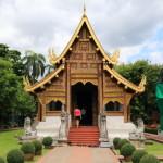 「ワット・プラシン」黄金のプラシン像を納めチェンマイ一格式高い寺院