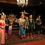 Le Grand runner of traditional Thailand and Thailand dance show dance beautifully