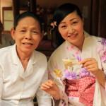 「ダラデヴィ チェンマイ」竹製の飾り物をつくるワークショップに挑戦!