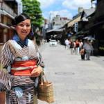 """因此,這是京都議定書、讓我們去""""和在堆疊的美食之旅赴到京都祗園祭祗園社區"""