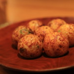 """TAKORIKI"" You can enjoy the takoyaki of Osaka specialties along with Biowain"