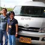 Chiang Mai International Airport kindly、Polite、Chengmai happy tour reliable airport shuttle service