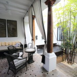"""The Siam"" appeared in Bangkok's first open-air villa with pool room!"