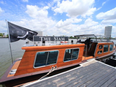 """""""The Siam"""" and book a private boat, enjoy a sightseeing and shopping!"""