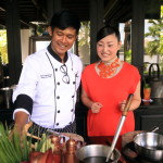 """The Siam"" with the Thai chef cooking school experience enjoyable!"