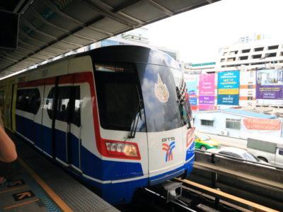 Bangkok Skytrain let's move to the smart ride destination!