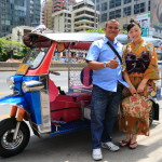 From lumpini Park and explore the Silom Bangkok's shopping