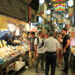 Nishiki food market opened 400 years hidden eating out in the kitchen of Kyoto's popular tourist attraction