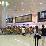 """到达的""""桃园国际机场""""!是由""""國光客運""""公交车进入到台湾台北市"""