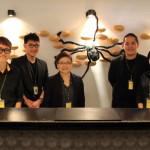 """amba台北西門町""我们从殷勤款待和随意的心情满载的酒店退房了"