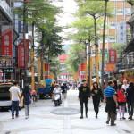 """城市擁擠的台北原宿所謂的""""西門町""""青年時尚文化震中"""