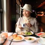 「グランドヴィクトリアホテル」優雅な5つ星ホテルのレストラン「la FESTA」にて朝食