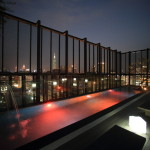 """PROVERBS TAIPEI HOTEL"" Night sky and sparkling chandeliers stain moody atmosphere"