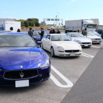 Maserati Nagoya hosted fall touring 2015 aimed at Fukui Mikata goko Rainbow line