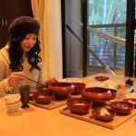 熱海市麩麩餅日本和西方的早餐是樂雅基奇納路房間舒舒服服地毆打。