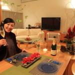 毎年恒例「我が家のクリスマスディナー2015」のテーマは「スノーホワイトクリスマス」