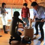 一級建築士「長谷守保建築計画」の長谷邸にて「餅つき会2015」からの忘年会
