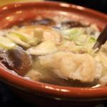 「旬の料理 大内」余すとこなくいただけ冬にしか味わえない贅沢鍋といえば「たら鍋」!