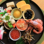 "New Year classic cuisine""OSECHI cuisine""It is the hope to each of the ingredients good luck"
