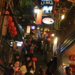 "Explore one of the most crowded is the main street ""Jishan st"" and the stone stairs ""Shuqi Road"" in Jioufen!"