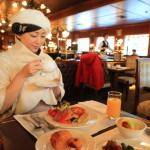 """The Landis Taipei"" Breakfast buffet style in the ""La Brasserie"" Reminiscent of Paris!"