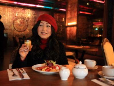 """HOTEL QUOTE Taipei 闊旅館"" ""333 餐廳&酒吧"" 在有機蔬菜和自助早餐"