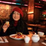 「HOTEL QUOTE TAIPEI」の「333レストラン&バー」でオーガニック野菜とブッフェ朝食