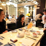 """Mandarin Oriental Taipei"" ""Café Un Deux Trois"" Elegant branch of the semi-buffet!"
