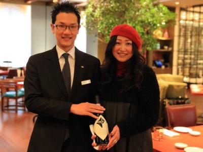"""""""Mandarin Oriental Taipei 台北文華東方酒店"""" 意大利餐廳 """"BENCOTTO""""我們將介紹優秀的品酒師!"""