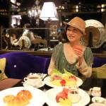 「パレ・デ・シン」の「ラ・ロティサリー」にて多国籍に富んだブッフェスタイルの朝食