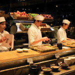 """Palais de Chine Hotel"" ""La Rotisserie"" Buffet -style breakfast that incorporates also Japanese food"