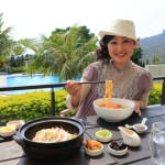 "Kenting Resort Hotel ""Gloria Nanor"" ""MU LOUNGE"" Beef noodle lunch !"