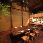 「カーヴユノキ」1日1組限定の岩瀬の隠れ家フレンチレストラン