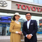 About Toyama Toyama Toyota head office young Shinagawa President of hot talk