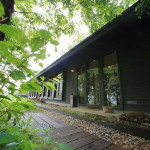 "Winery nestled quietly on a small hill ""FARM SAYS"" Toyama Himi"