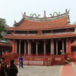 "Ancient capital of Tainan attractions stroll Taiwan's oldest school of ""Confucius Temple"" 1665 foundation"