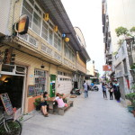 "Renovation of the old houses ""Shennong Street"" Old streets where you can enjoy stylish cafes and art galleries"