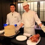 「シルクスプレイス台南」広東料理「晶英軒」の肉汁溢れるローストチェリーダックコース!
