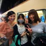 「台南駅」からローカル列車台鉄で高雄「左営駅」へ!台南ガールズの快心サポート!